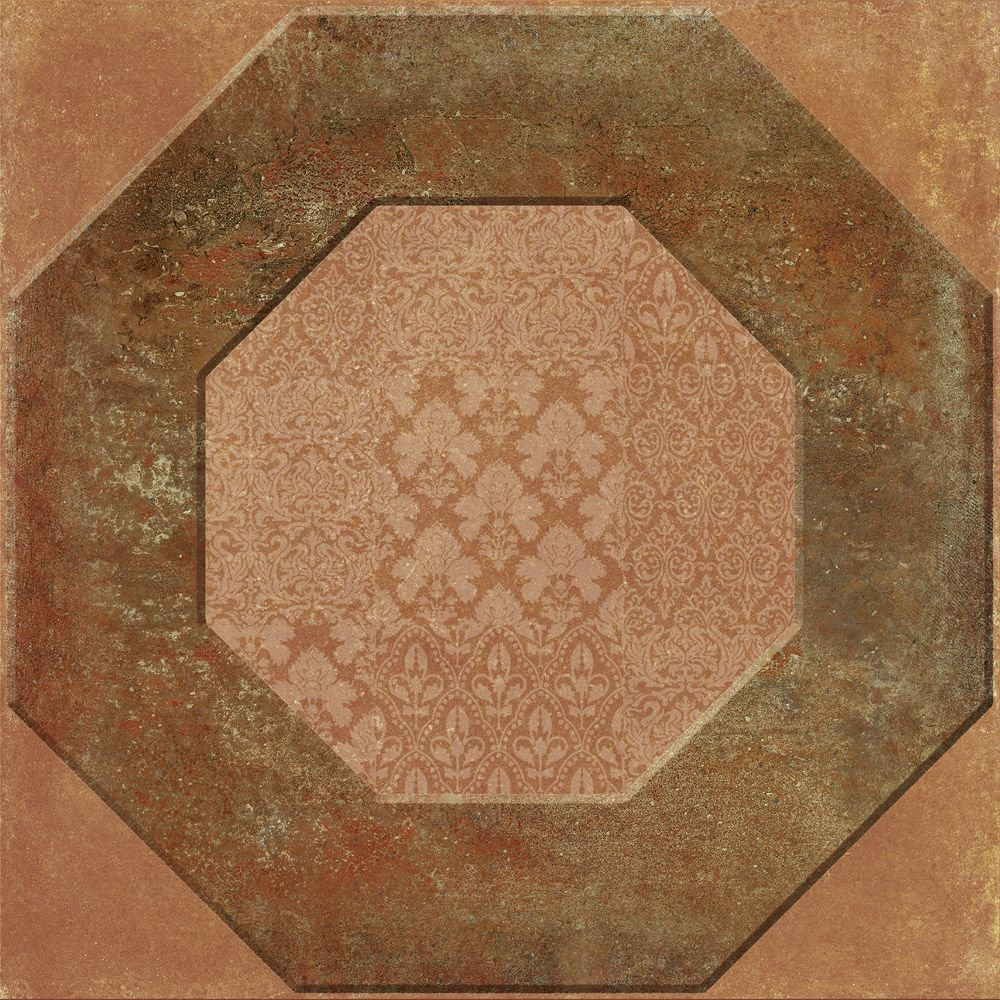 Geometric Country Cotto 15x15
